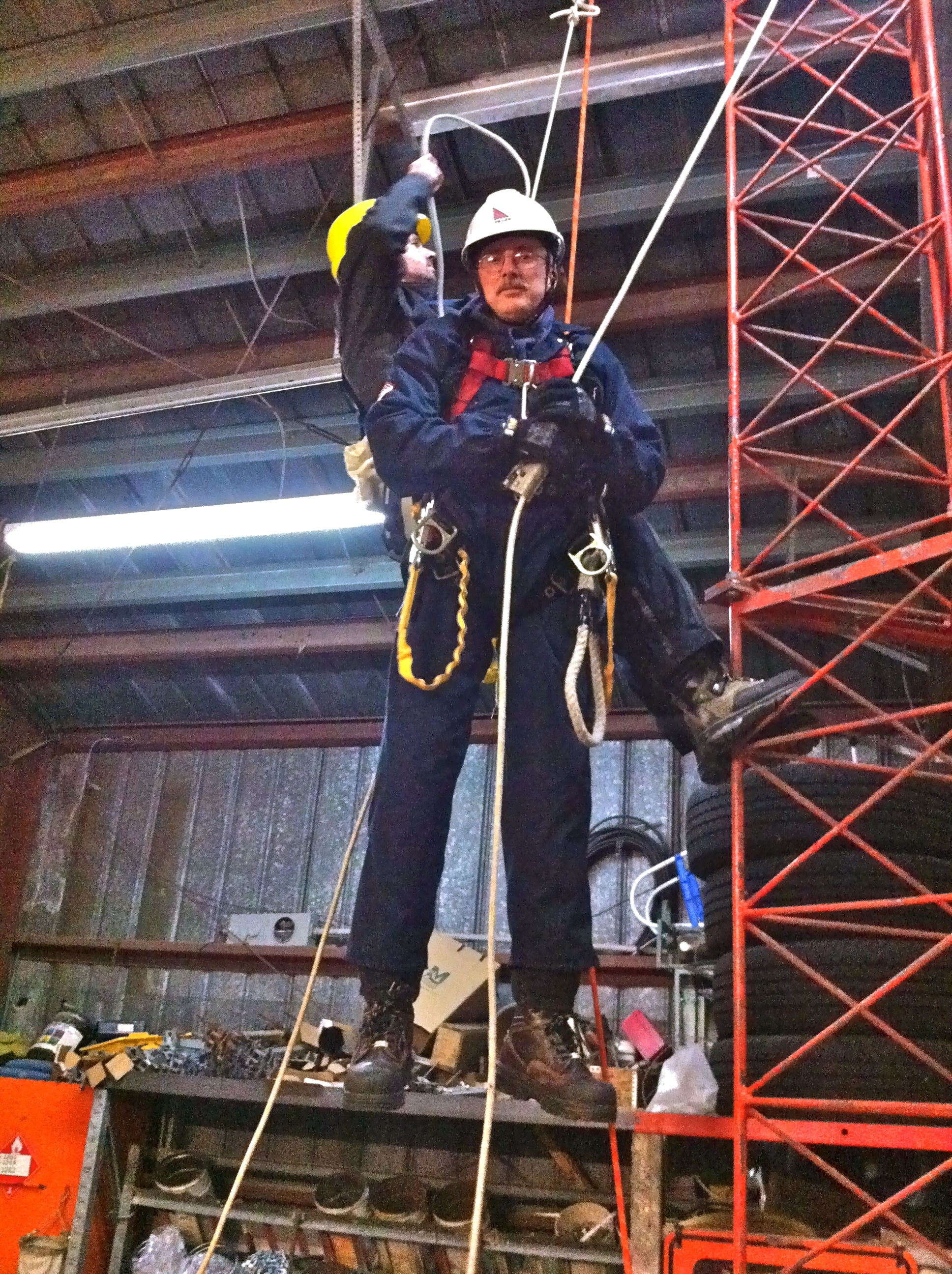 Tiller Fall Protection Trainer Approved by WHSCC